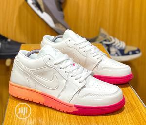 Nike Air Jordan 1 Low Sunrise (GS) Sneakers Original   Shoes for sale in Lagos State, Surulere