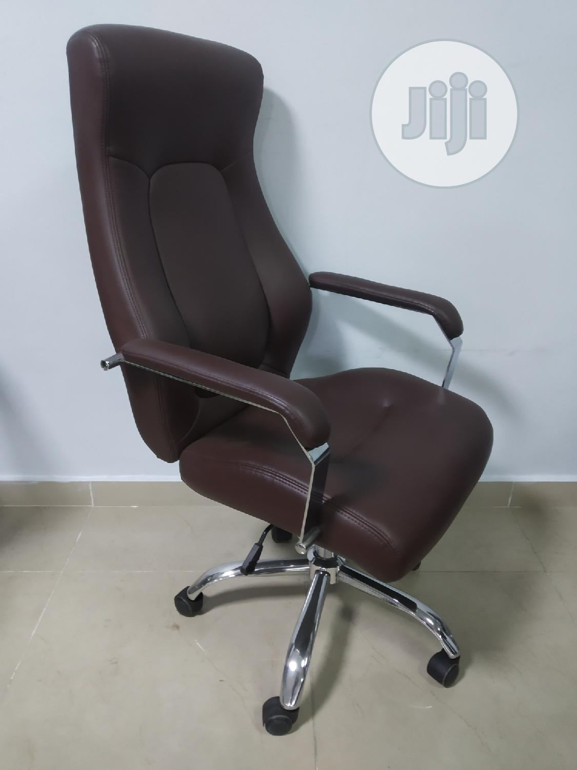 Brown Executive Office Chair   Furniture for sale in Yaba, Lagos State, Nigeria