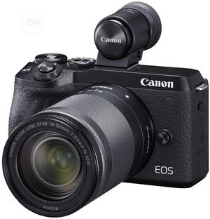 Canon EOS M6 Mark II Mirrorless Digital Compact Camera + EF- | Photo & Video Cameras for sale in Lagos State, Ikeja
