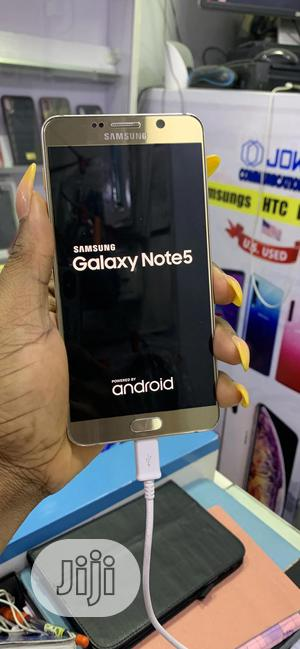 Samsung Galaxy Note 5 Duos 32 GB Gold   Mobile Phones for sale in Lagos State, Ikeja