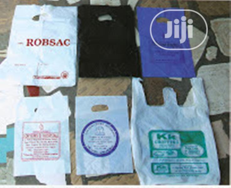 We Make And Print On Nylon Shopping Bags