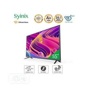 """Syinix 55"""" Inch Android 4K UHD Smart LED TV 
