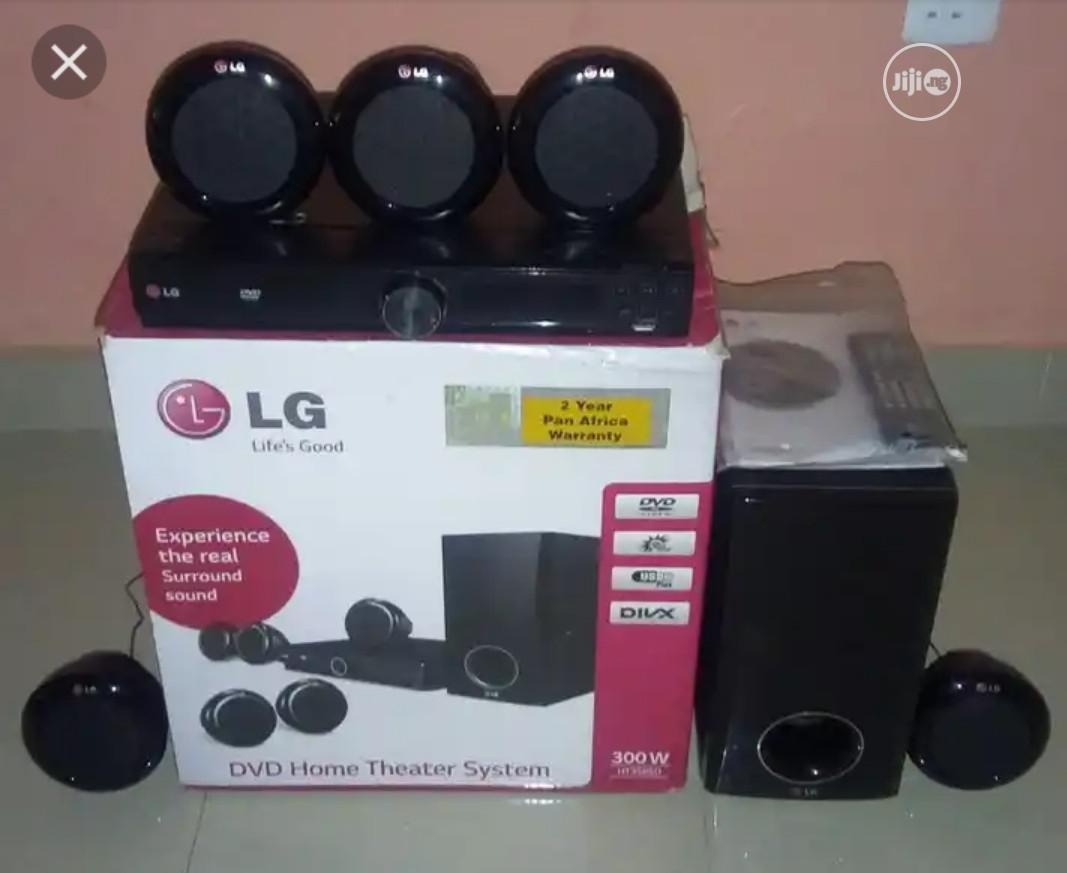 Archive: LG Home Theater With 5 Satellite Speakers