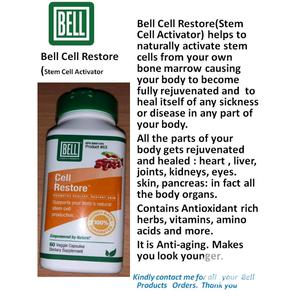 Bell Cell Restore (Stem Cell Activator) to Activate Cells | Vitamins & Supplements for sale in Lagos State, Ikeja
