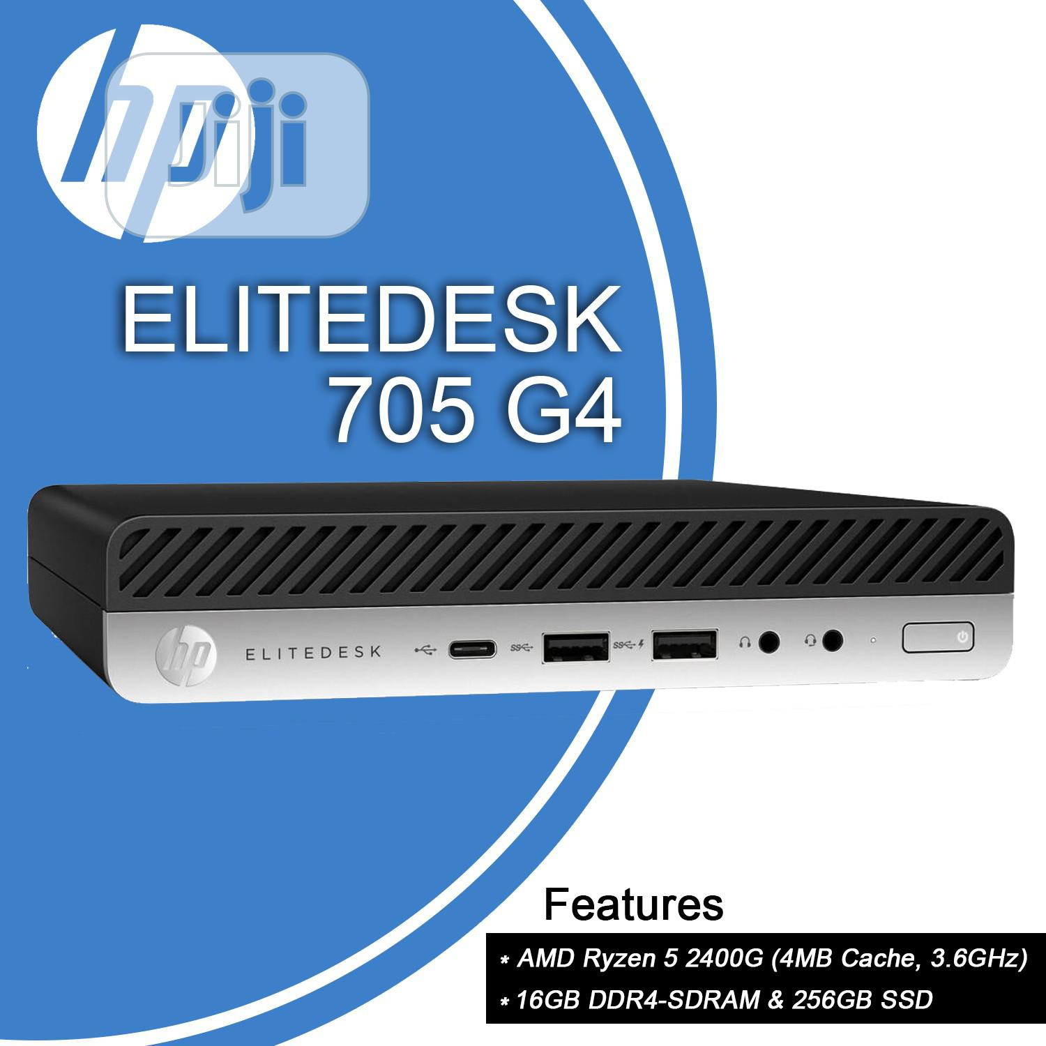 Archive: New Desktop Computer HP EliteDesk 705 16GB AMD Ryzen SSD 256GB