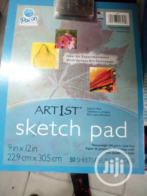 Artist Sketch Pad 50 Sheet | Arts & Crafts for sale in Lagos State, Surulere