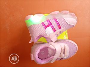 Baby Girl Canvas With Led Light | Children's Shoes for sale in Lagos State, Alimosho