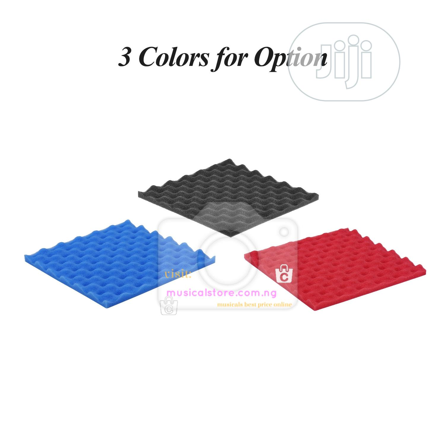 Acoustic Foam. Soundproofing 6pcs | Audio & Music Equipment for sale in Ojo, Lagos State, Nigeria