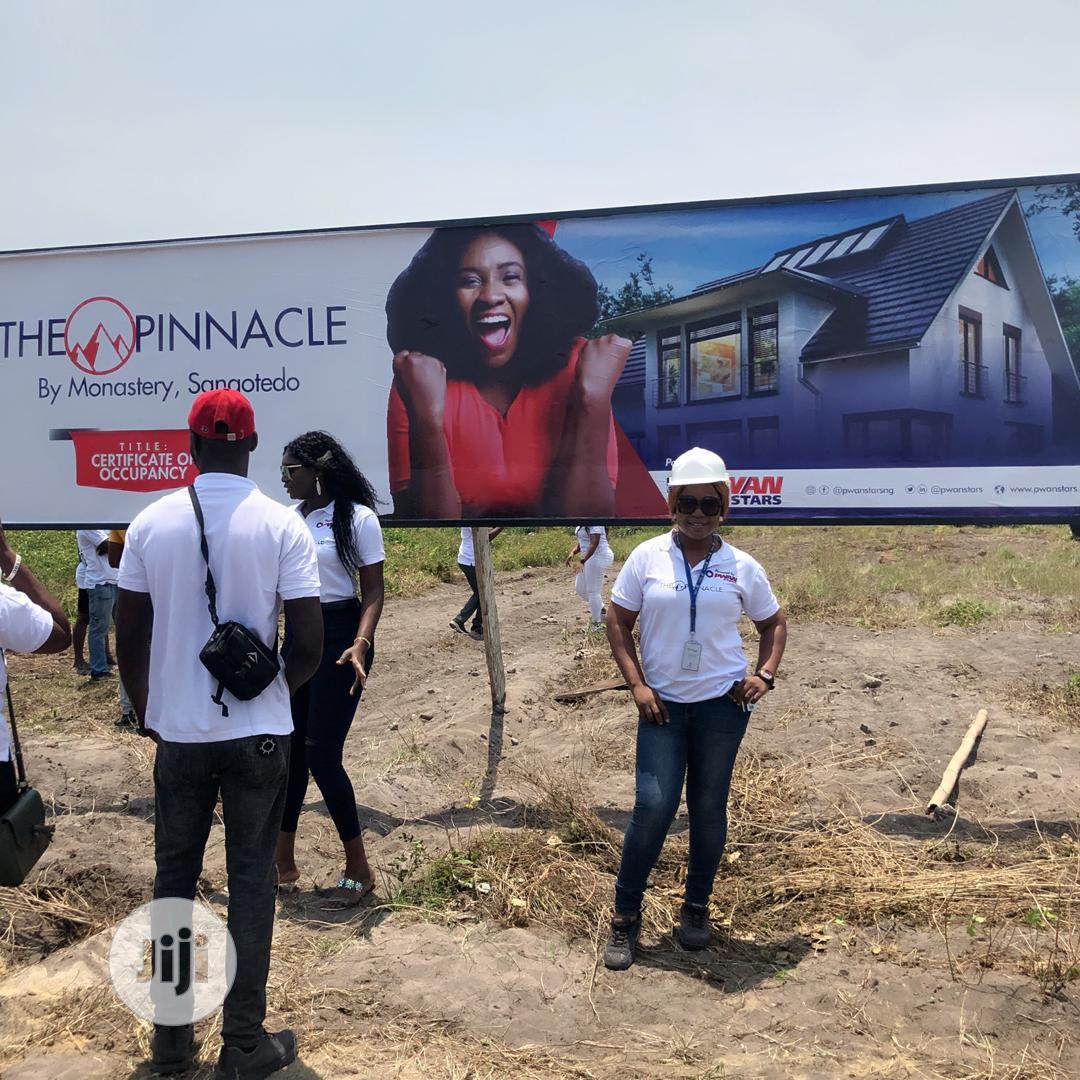 Pinnacle Estate For Sale In Sangotedo Ajah | Land & Plots For Sale for sale in Ajah, Lagos State, Nigeria