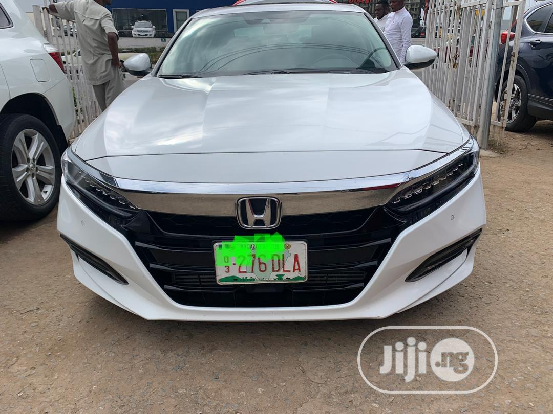 Honda Accord 2018 Touring 2 0t White In Agege Cars Bubumotos Bubumotos Jiji Ng For Sale In Agege Buy Cars From Bubumotos Bubumotos On Jiji Ng