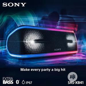 Sony SRS-XB41 EXTRA BASS Portable Bluetooth Speaker | Audio & Music Equipment for sale in Lagos State, Ikeja