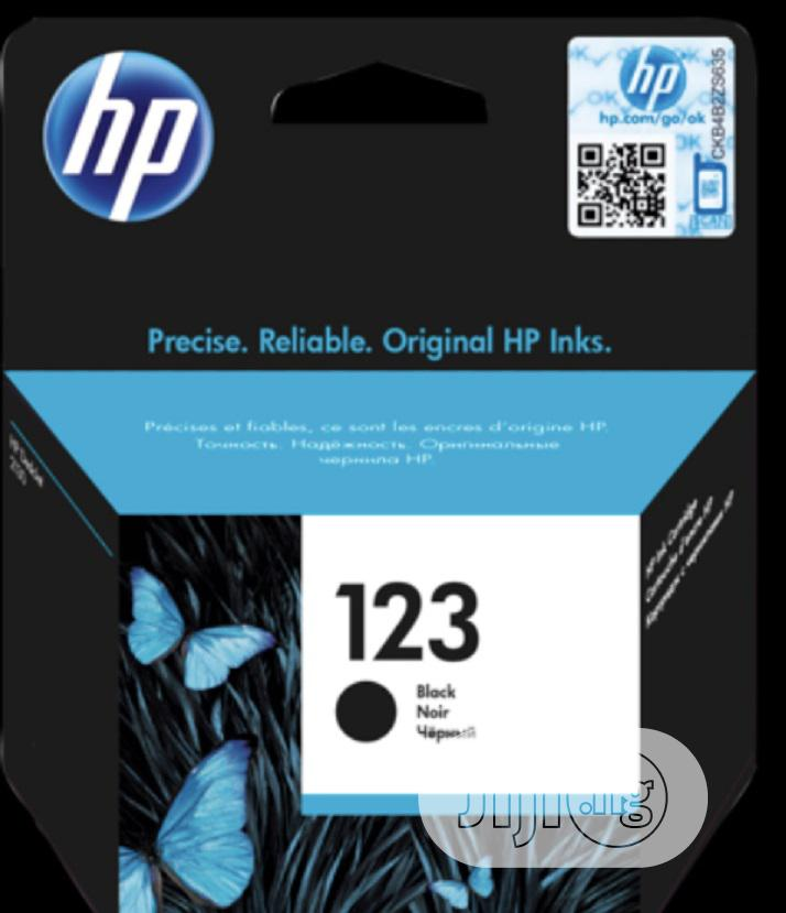 123 Genuine Black HP Ink Cartridge