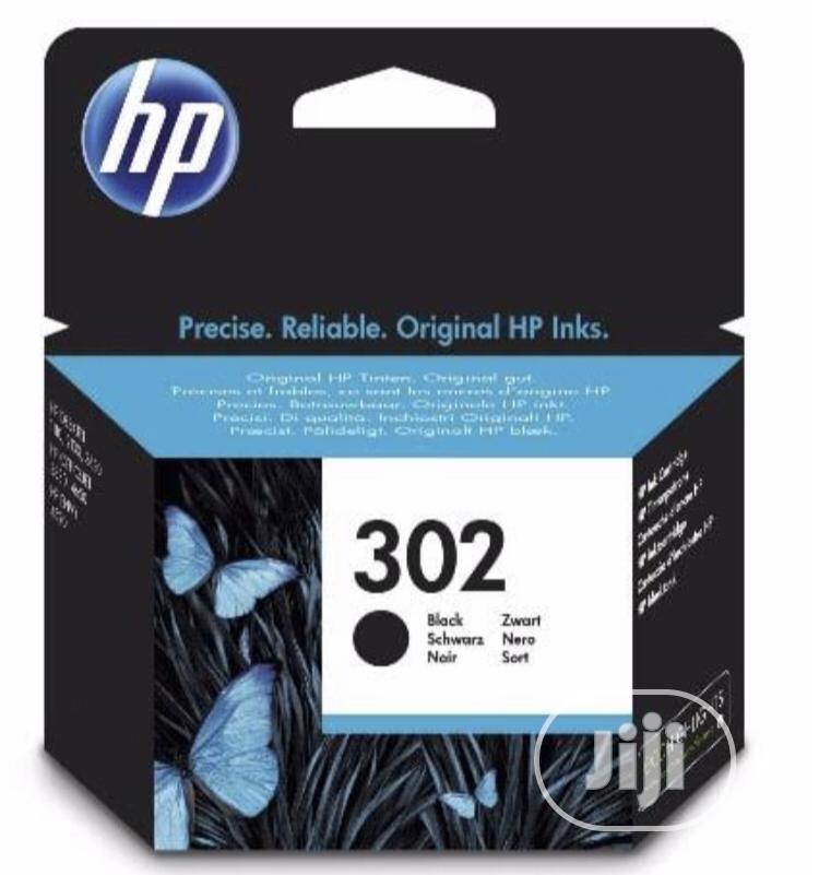 Archive: HP 302 Black Genuine Ink Cartridge