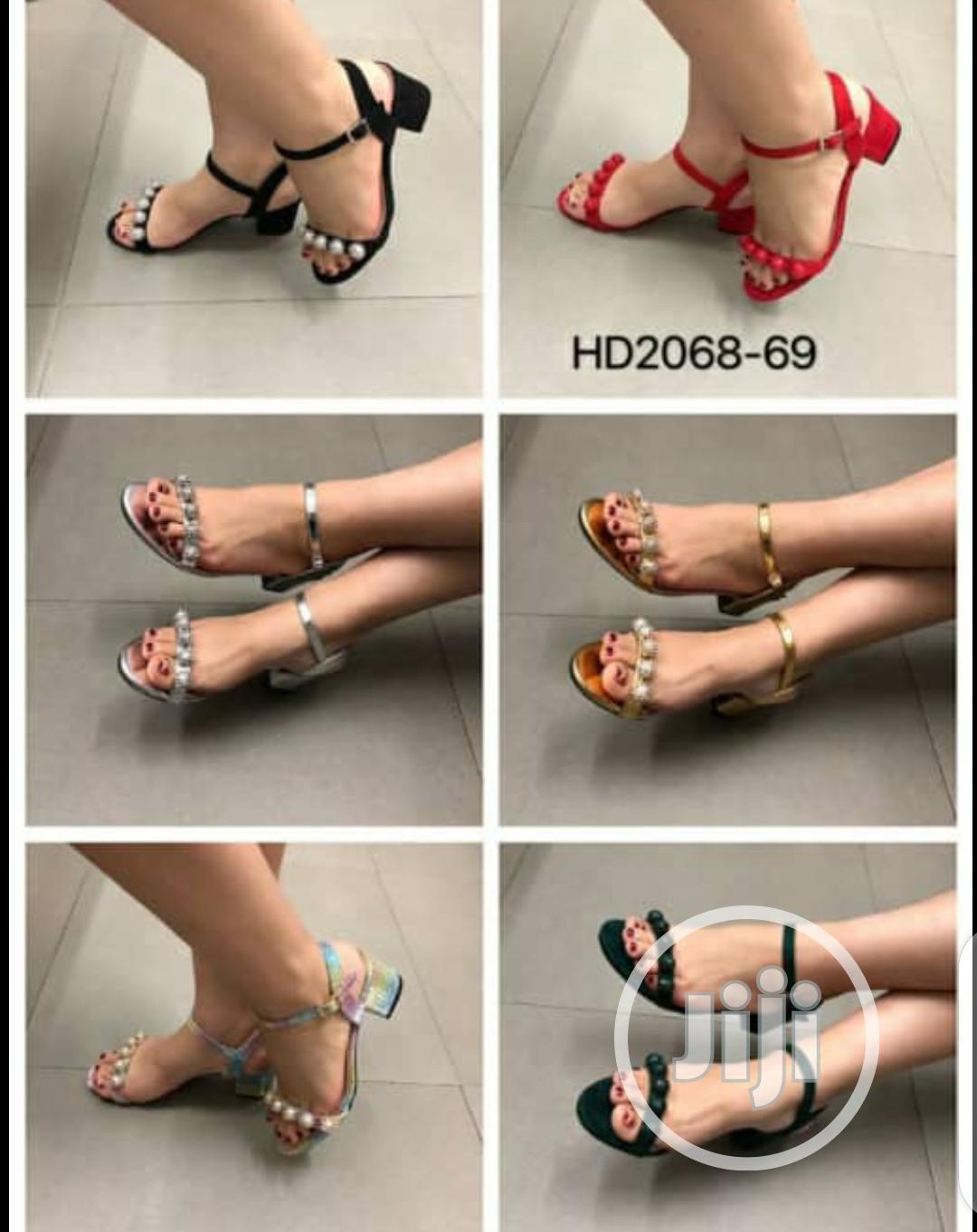 Archive: Ladies Heeled Sandals