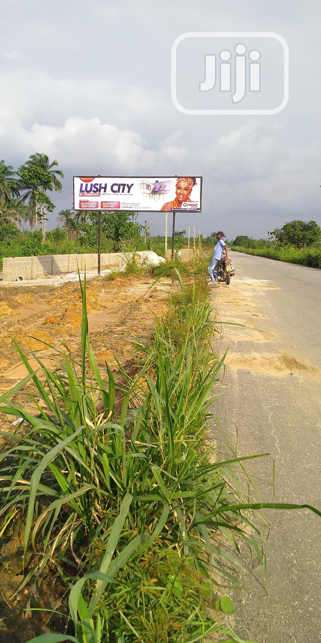 Very Affordable Lush City Estate Land by Cedarwood Aba.
