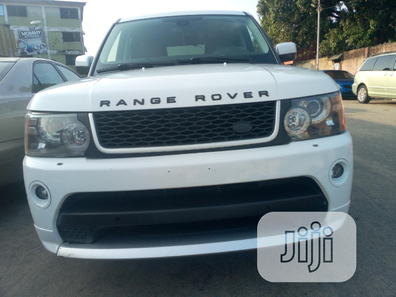 Land Rover Range Rover Sport HSE Lux 2012 White