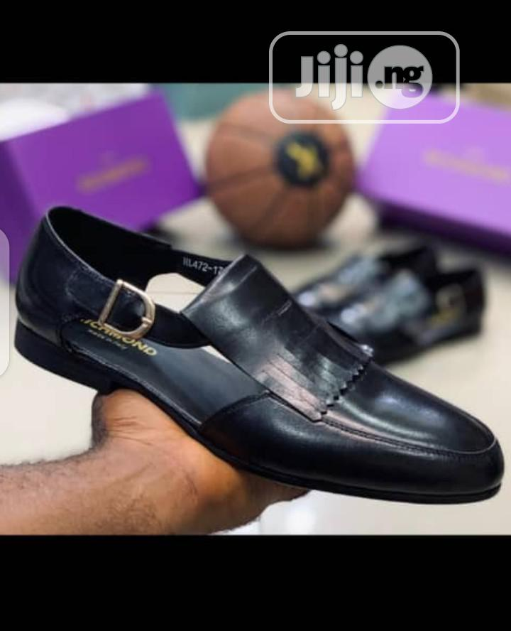 New Quality Turkey Men Leather Sandals Shoes | Shoes for sale in Ikeja, Lagos State, Nigeria