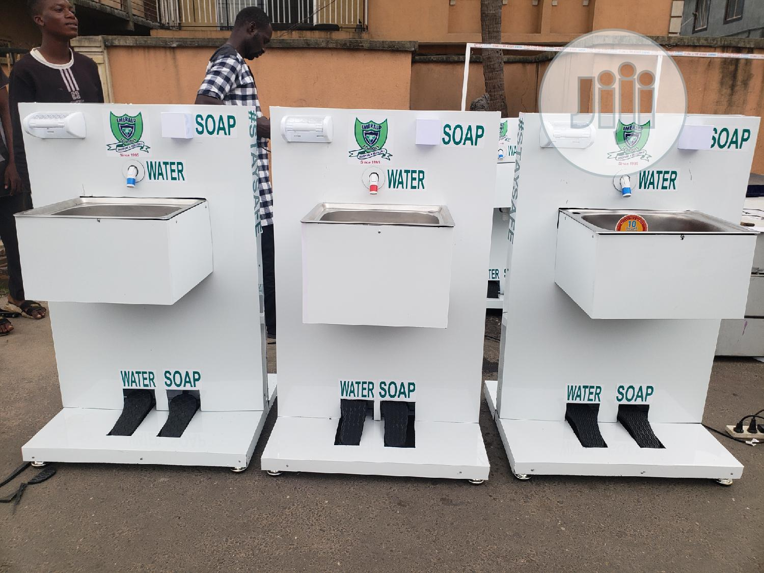 Mini Contact Hand Wash Station | Safety Equipment for sale in Ikeja, Lagos State, Nigeria