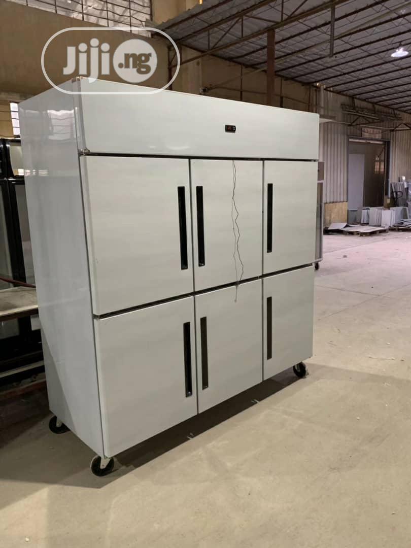 Archive: Industrial Freezer 6 Doors