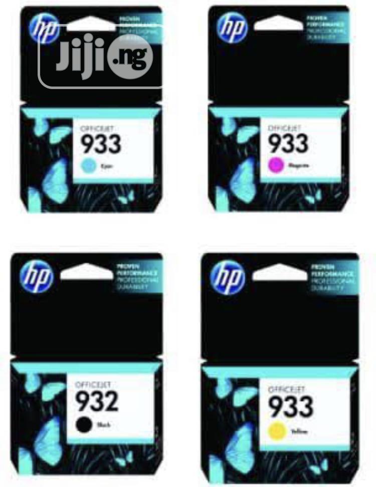 HP 932 933 All Colors Genuine Ink Cartridge