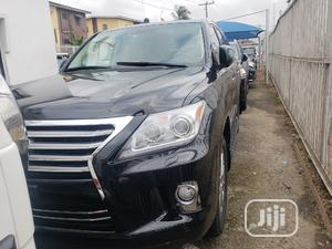 Lexus LX 2008 570 Black | Cars for sale in Lagos State, Surulere