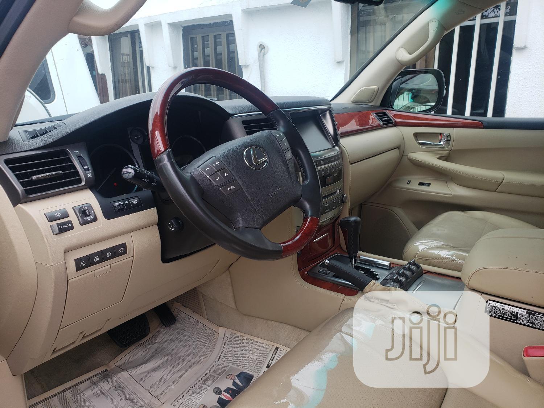 Lexus LX 2008 570 Black | Cars for sale in Surulere, Lagos State, Nigeria