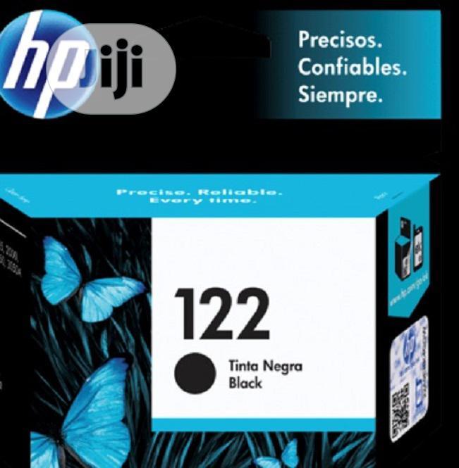 HP 122 Black Genuine Ink Cartridge