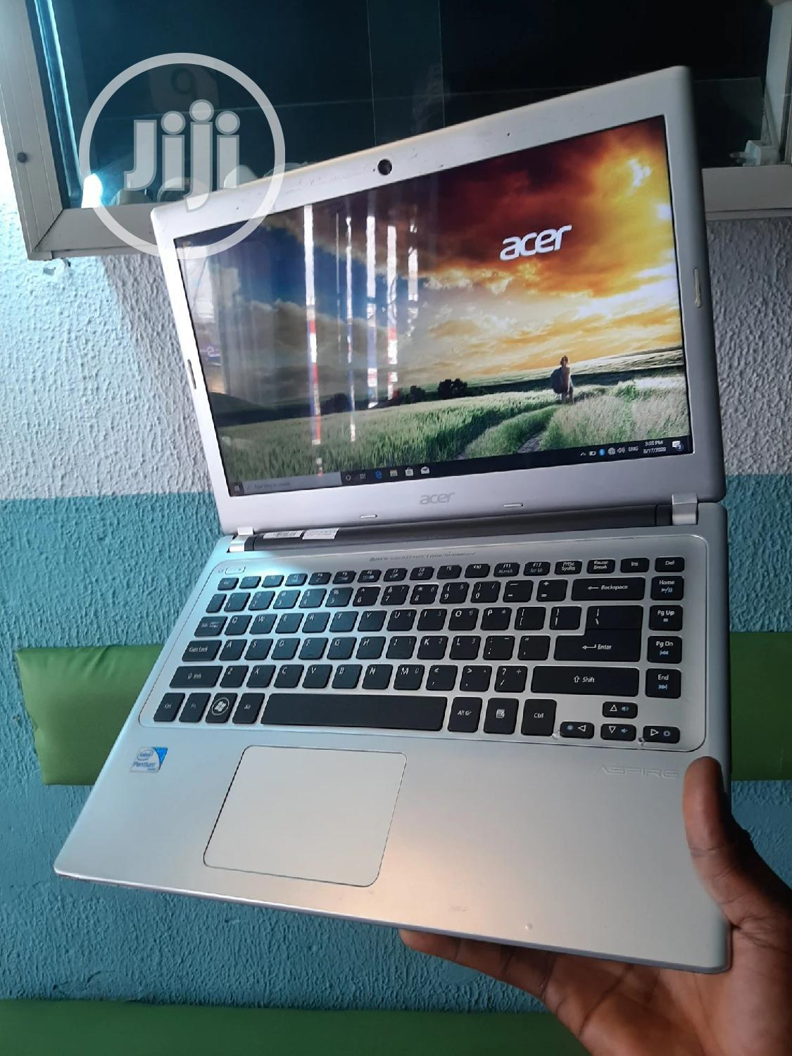 Laptop Acer Aspire V5-431P 4GB Intel Celeron HDD 350GB | Laptops & Computers for sale in Ikeja, Lagos State, Nigeria
