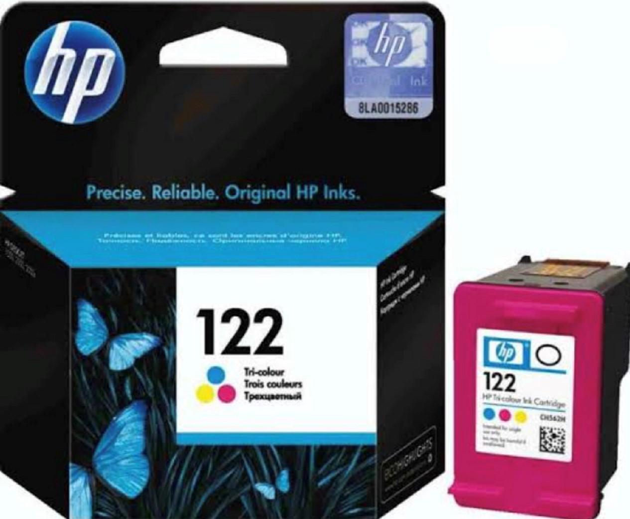 Archive: HP 122 Tricolor Genuine Ink Cartridge