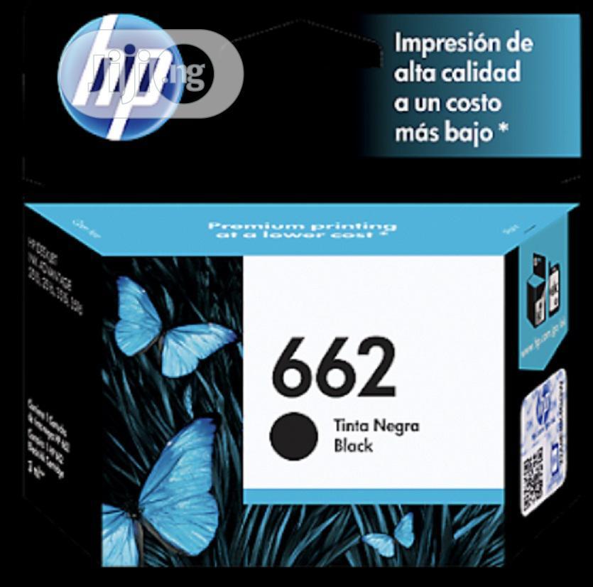 Archive: Hp 662 Black Genuine Ink Cartridge