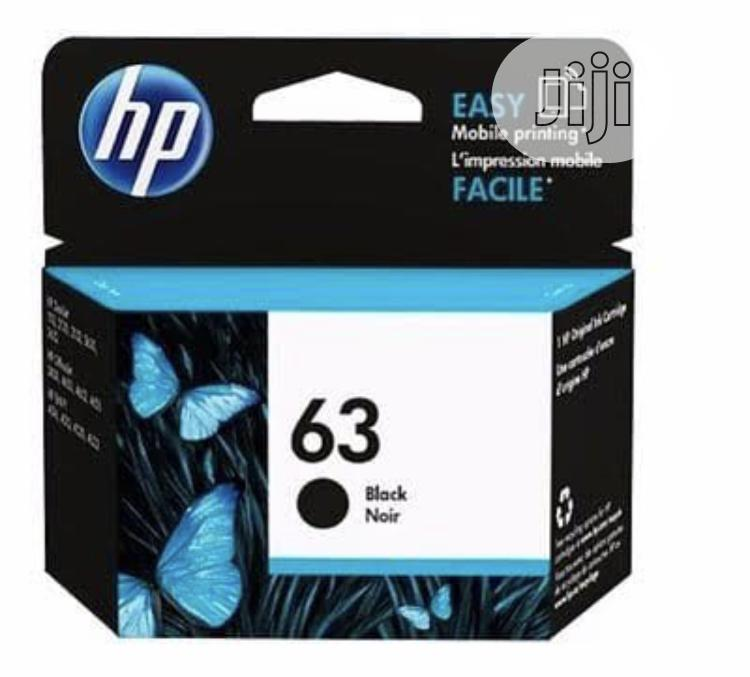 Hp 63 Black Genuine Ink Cartridge