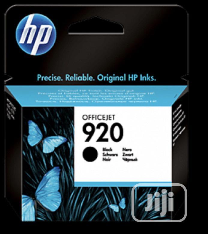 Hp 920 Genuine Black Ink Cartridge