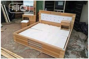 Wooden Bed Frame | Furniture for sale in Lagos State, Agege