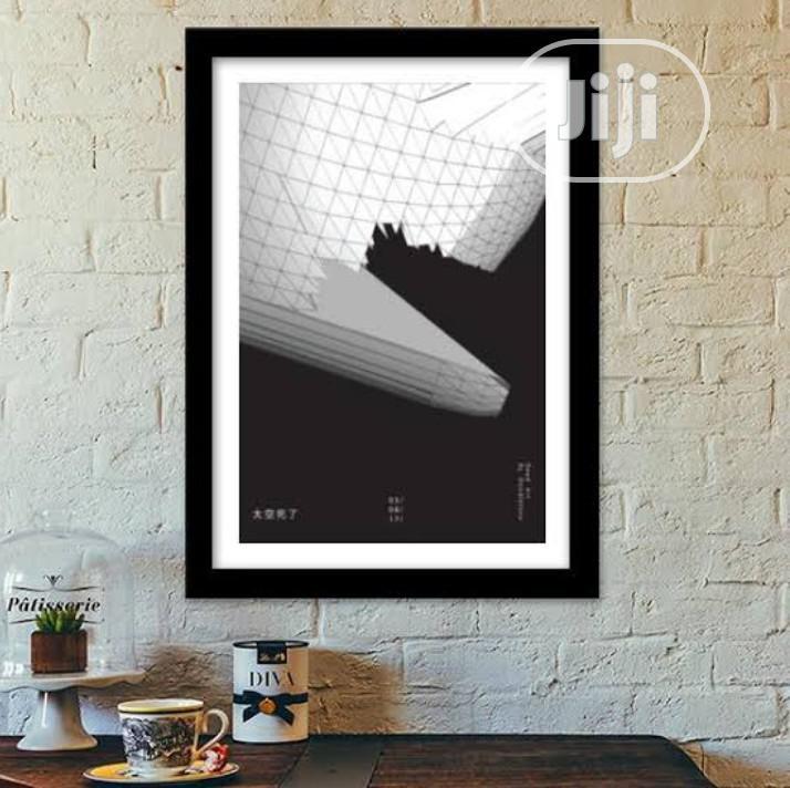 White and Black Frame