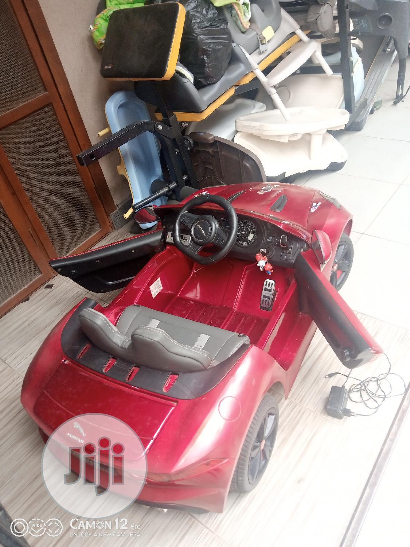 Tokunbo Uk Used Jaguar Toy Car