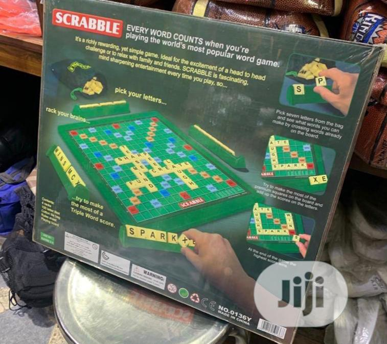 Big Sccrabble Game | Books & Games for sale in Agege, Lagos State, Nigeria