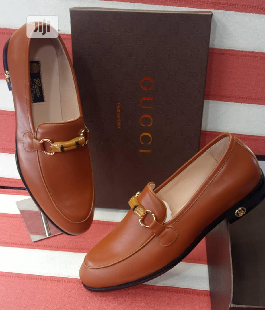 Gucci Brown Leather Shoes   Shoes for sale in Lagos Island (Eko), Lagos State, Nigeria
