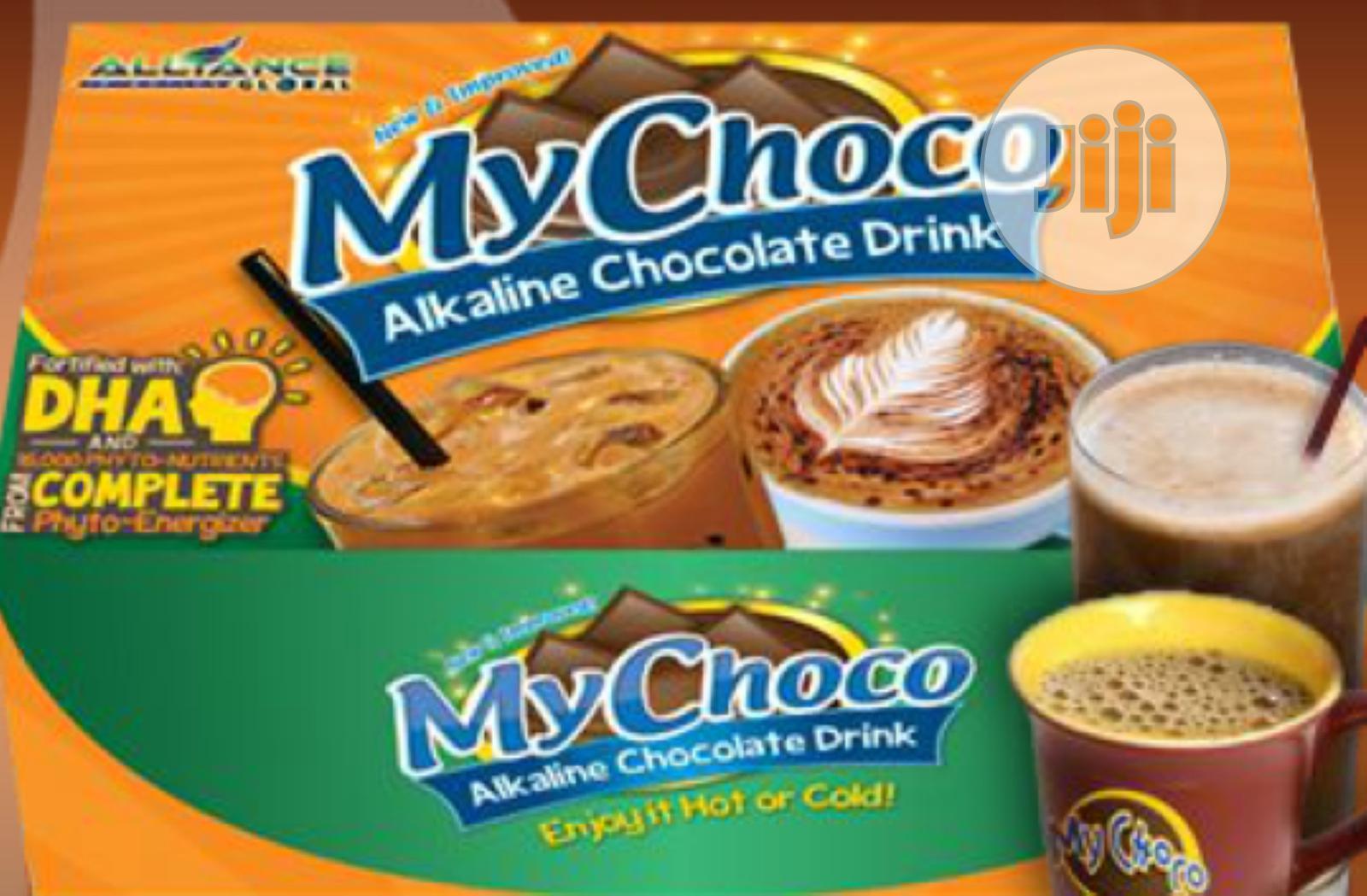 Mychoco Alkaline Tea/Chocolate Beverage.My Choco