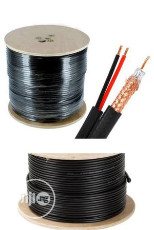 305m RG59 CCTV Power Cable Pure Copper. AHD/HD CCTV Cable. | Accessories & Supplies for Electronics for sale in Lagos State, Ikeja