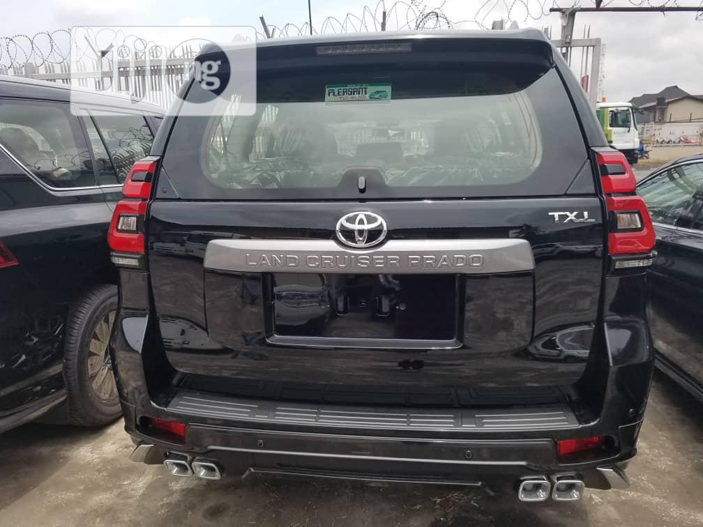 Toyota Land Cruiser Prado 2019 GXR Black | Cars for sale in Surulere, Lagos State, Nigeria