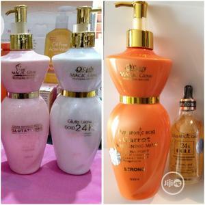 Magic Glow 24K Gold Lotion   Skin Care for sale in Lagos State, Amuwo-Odofin