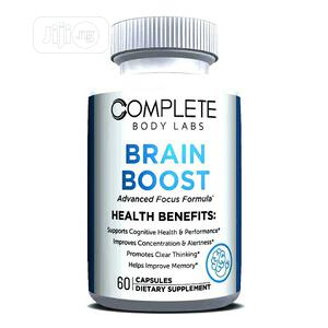 BODY LAB - BOOST BRAIN Memory, Focus, Concentration & Energy   Vitamins & Supplements for sale in Lagos State, Ikeja