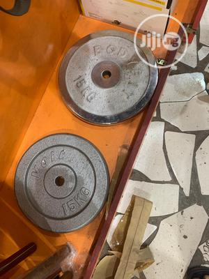 Barbell Plate | Sports Equipment for sale in Lagos State, Badagry
