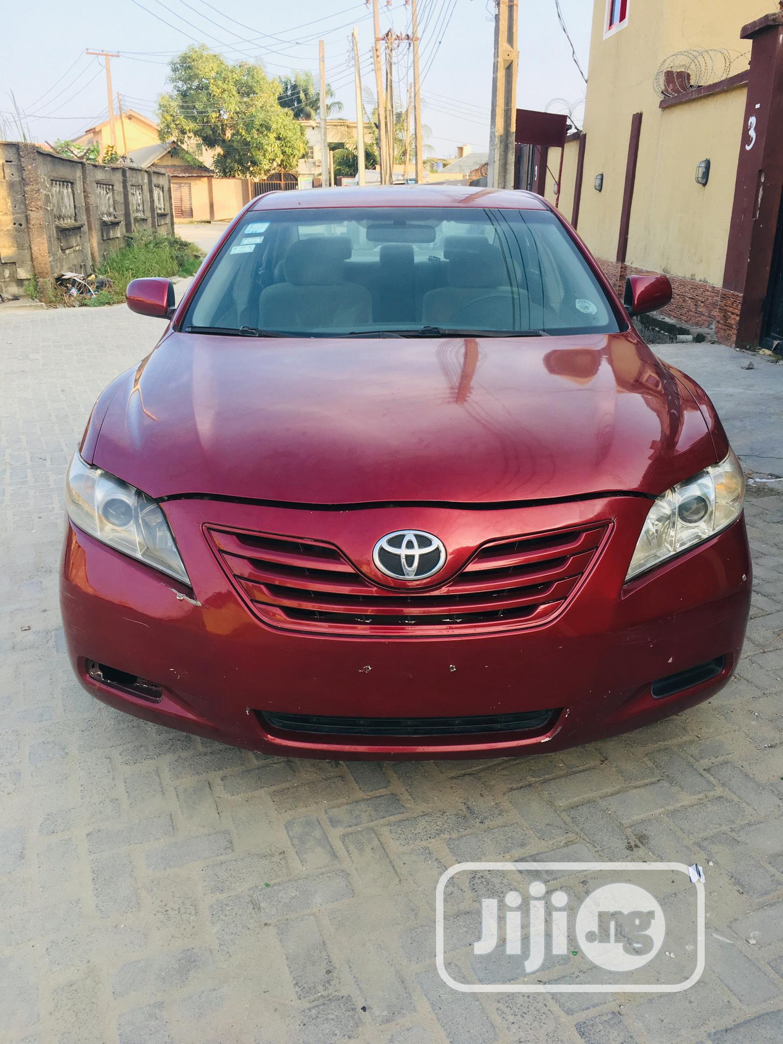 Toyota Camry 2007 Red In Ajah Cars Larry Ugwu Jiji Ng For Sale In Ajah Buy Cars From Larry Ugwu On Jiji Ng