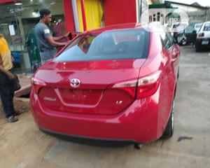 Toyota Corolla 2018 LE (1.8L 4cyl 2A) Red   Cars for sale in Lagos State, Ojodu