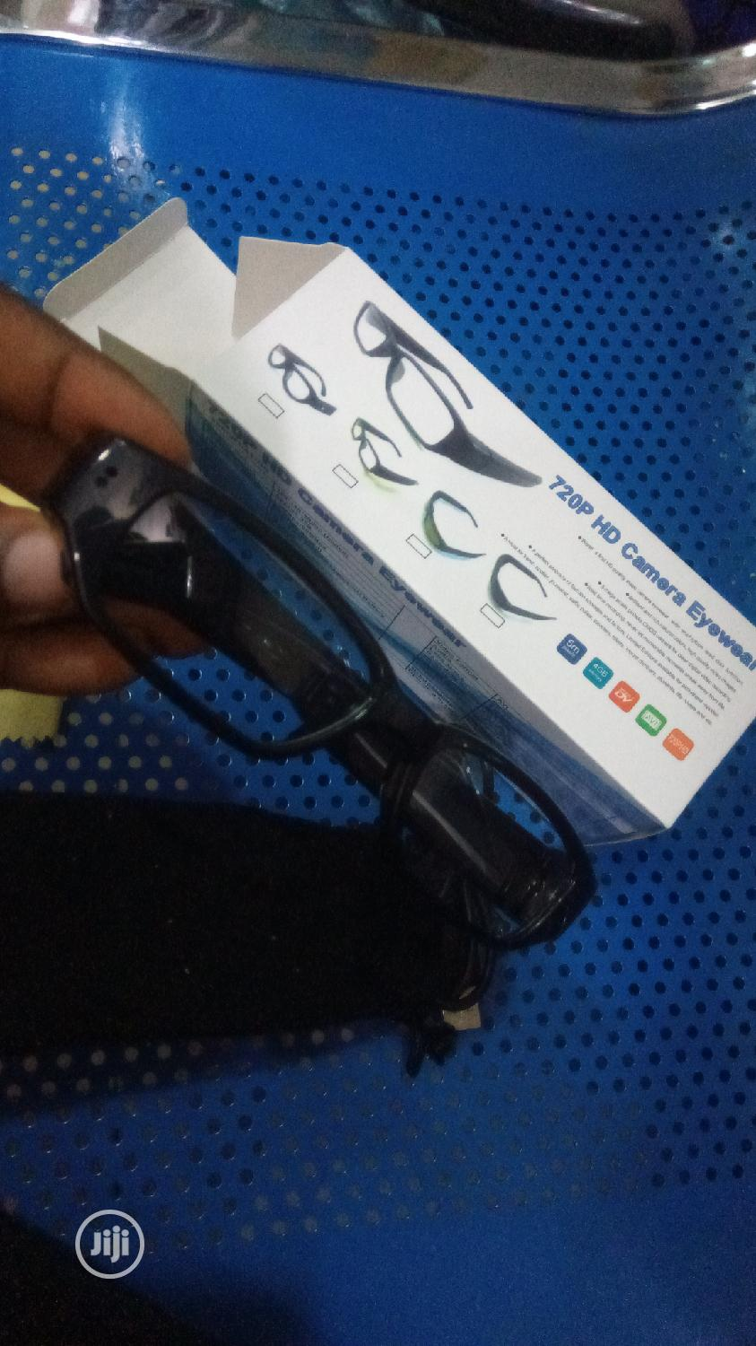 720 HD Spy Glass Camera Eyeswear | Security & Surveillance for sale in Ikeja, Lagos State, Nigeria