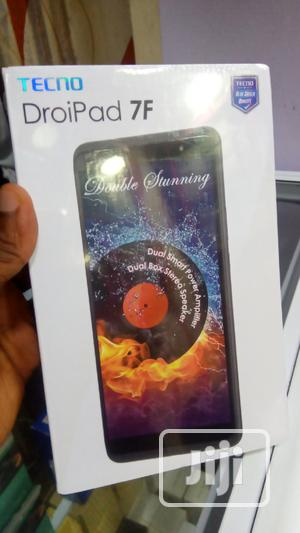 New Tecno DroiPad 7E 16 GB Black | Tablets for sale in Lagos State, Ikeja