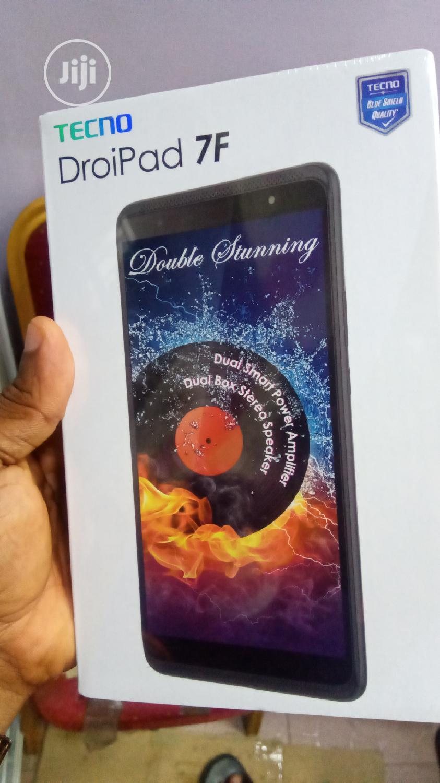 New Tecno DroiPad 7E 16 GB Black | Tablets for sale in Ikeja, Lagos State, Nigeria
