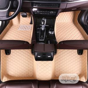 Cream Floor Leather Car Foot Mat | Vehicle Parts & Accessories for sale in Lagos State, Lekki