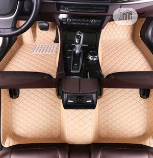 Cream Car Leather Foot Mat | Vehicle Parts & Accessories for sale in Lagos State, Ikeja